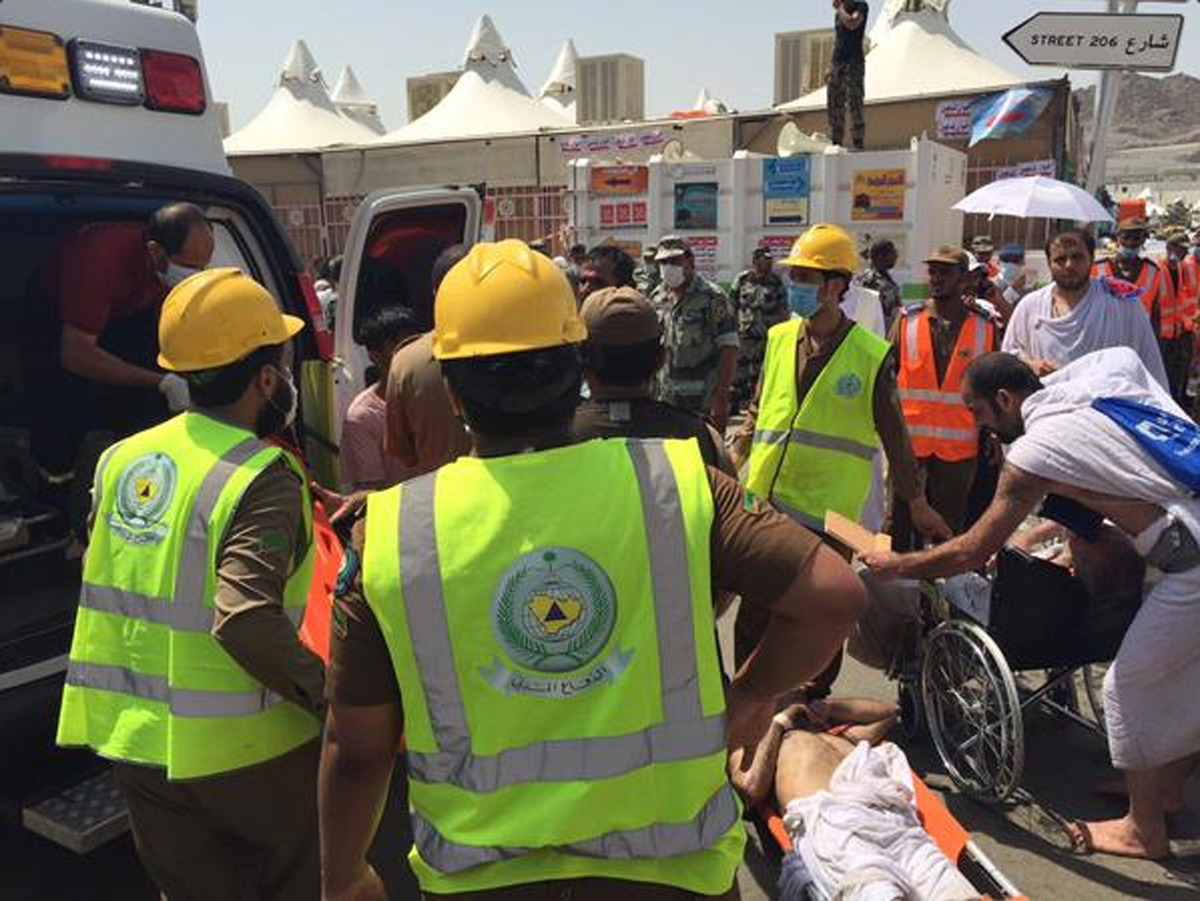 Over 700 people killed in hajj pilgrimage stampede near Mecca