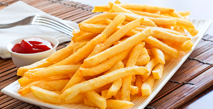 There is a reason why the french fries taste so bad when they are cold.