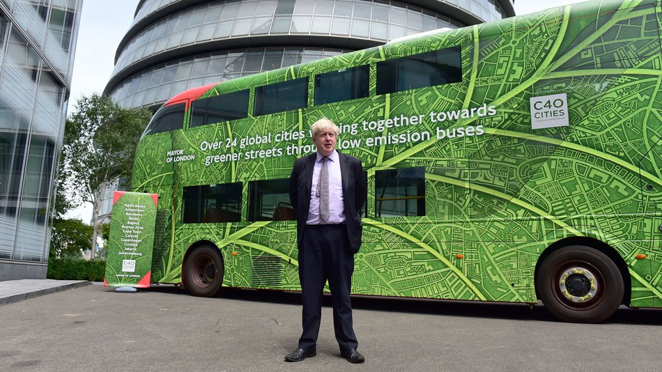 London is getting its first fully electric doubledecker bus