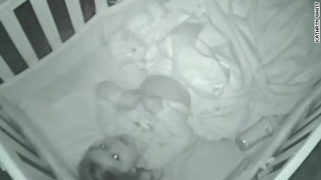 Parents Catch Toddler Saying Prayers on Baby Monitor
