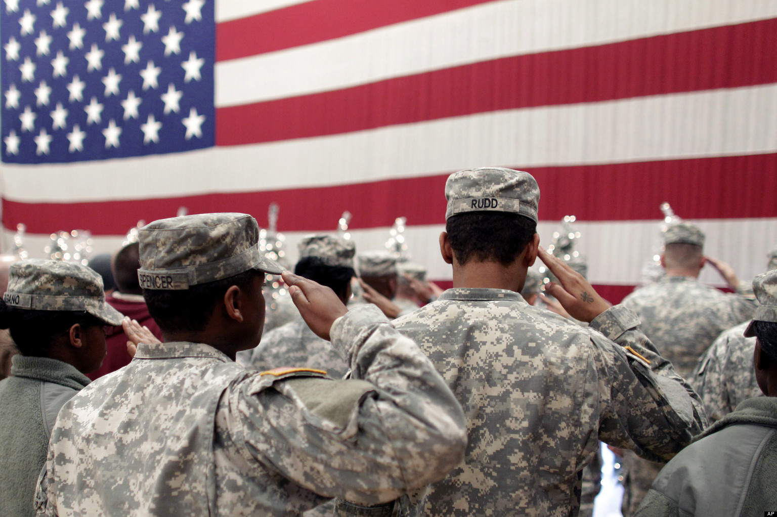 The vast divide between America and its military