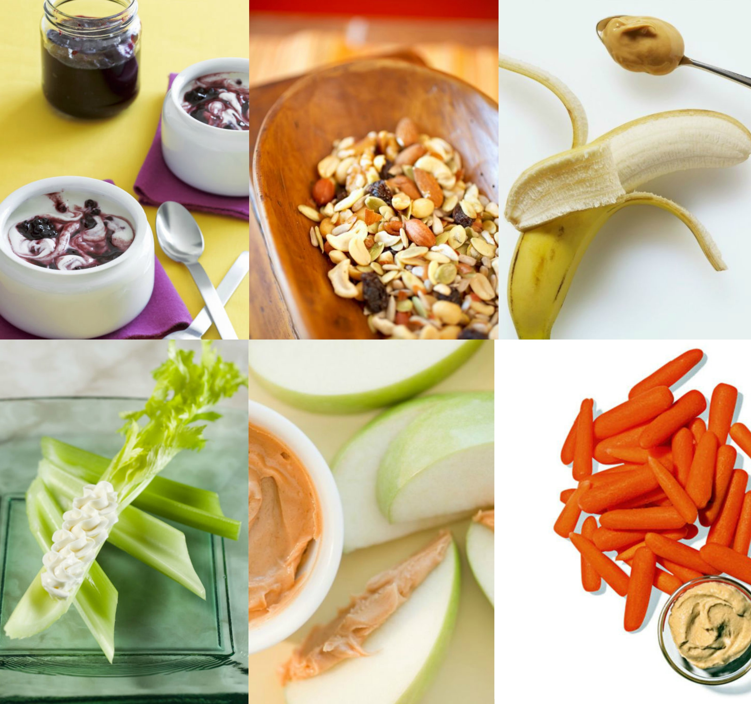 5 Healthy, easy and filling snacks ideas