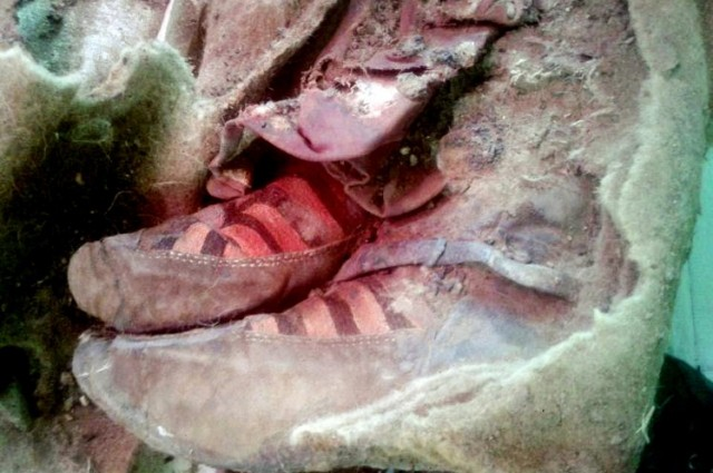 1,500-Year-Old Mummy Appears To Be Wearing Adidas Trainers