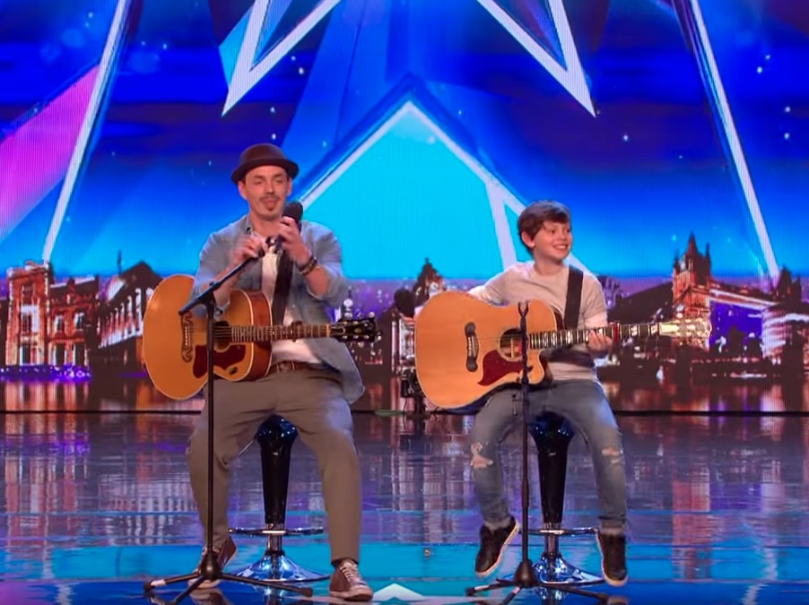 This duet makes Simon Cowell's golden buzzer in Britain's Got Talent