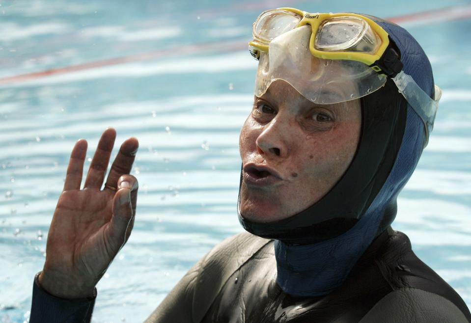 Underwater search ends for free diver Molchanova off Spain