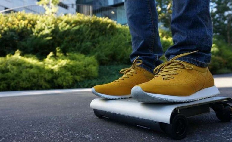 The WalkCar, a Japanese Gadget Designed to Make Walking Obsolete