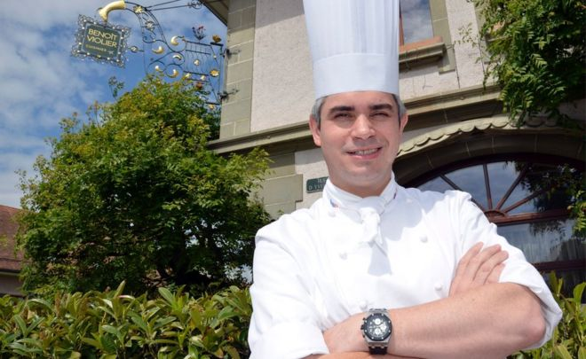 """World's best chef"" Benoit Violier dies aged 44"