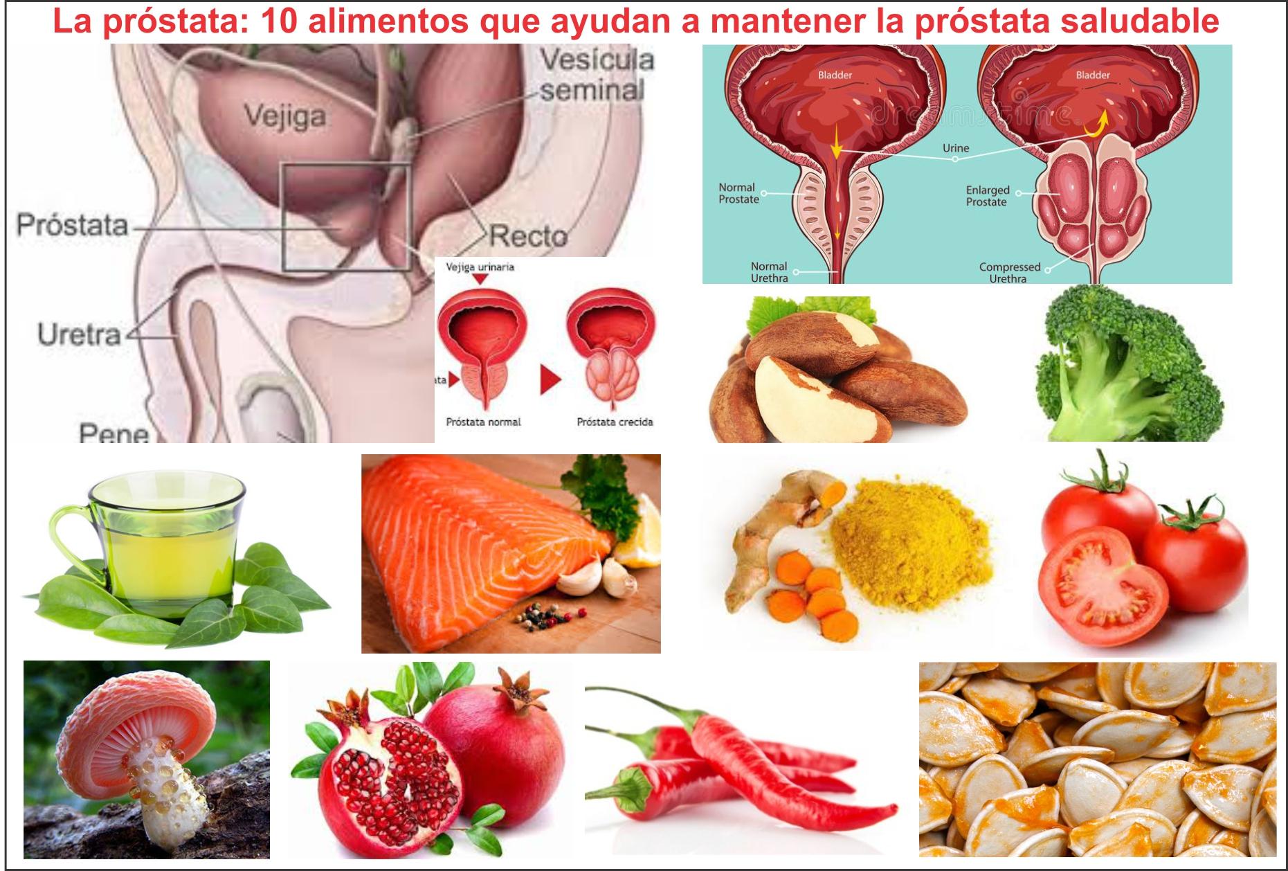 próstata agrandada de especias