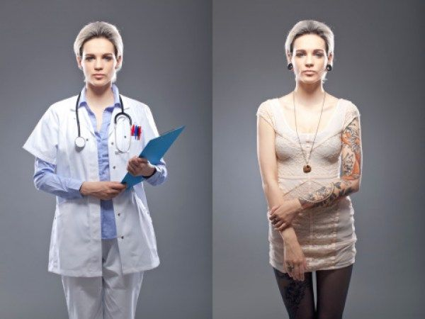 Would you trust a doctor with tattoos?