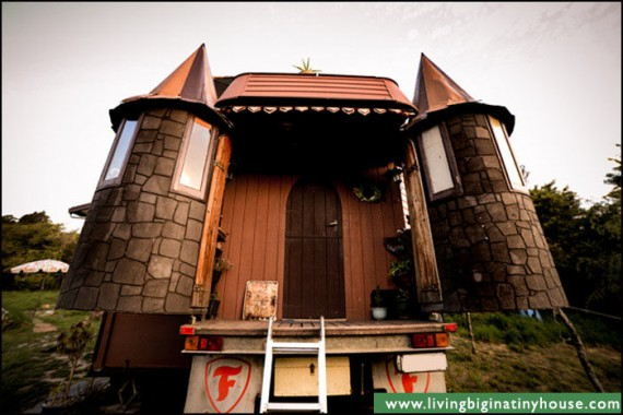 This transforming castle truck is the most amazing mobile home ever