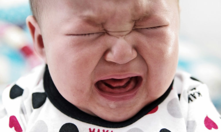 YOUR BABY   S CRY CAN RATTLE YOUR BRAIN