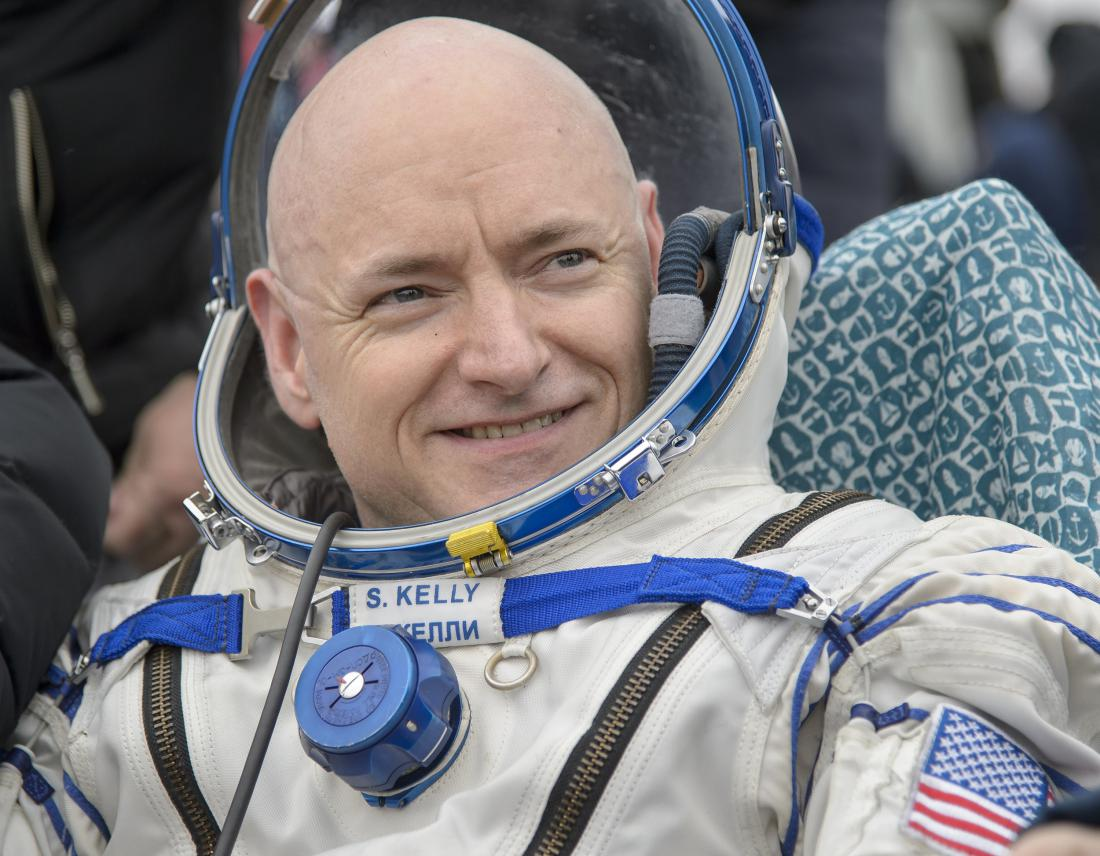 After Nearly A Year in Space, NASA's Scott Kelly Is Back on Earth