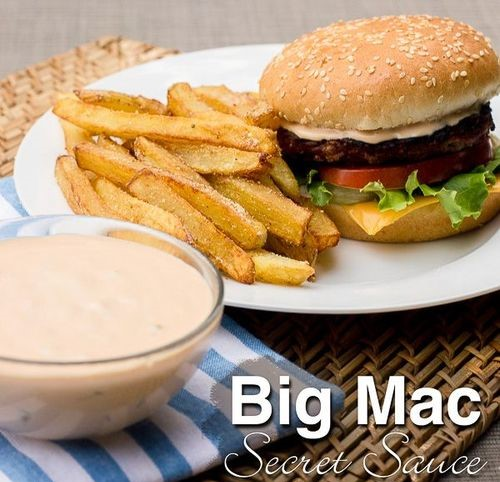 How to make big mac sauce at home by mcdonald   s