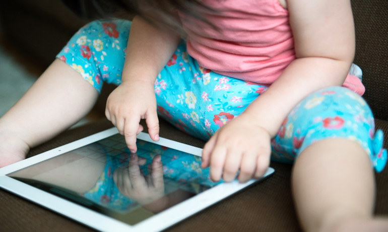 Toddlers can use iPads by age two