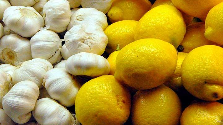 Como bajar de peso con limon y ajo para