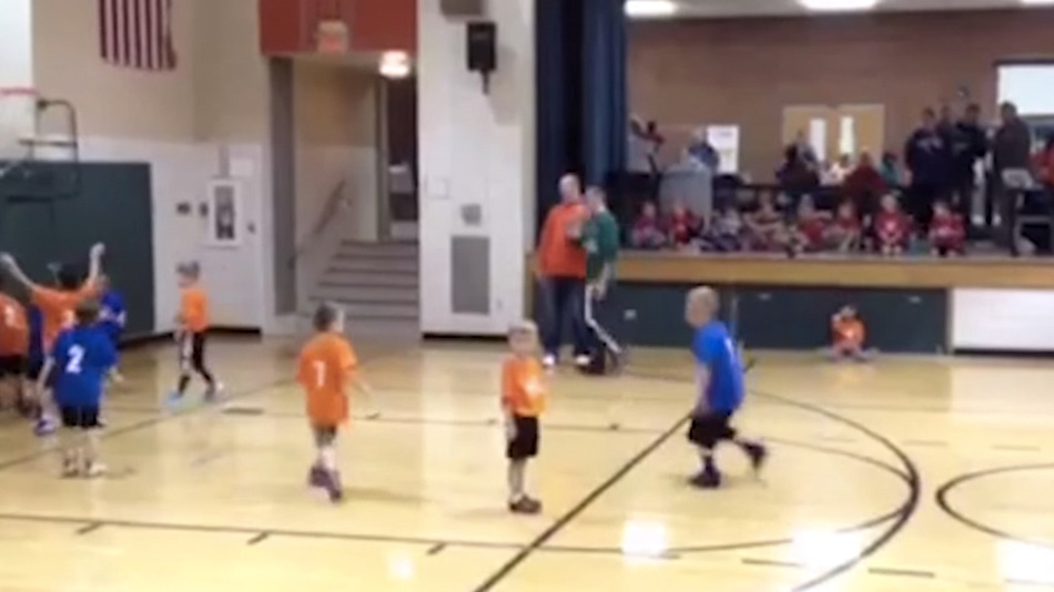 This kid is the Michael Jordan of not caring about basketball
