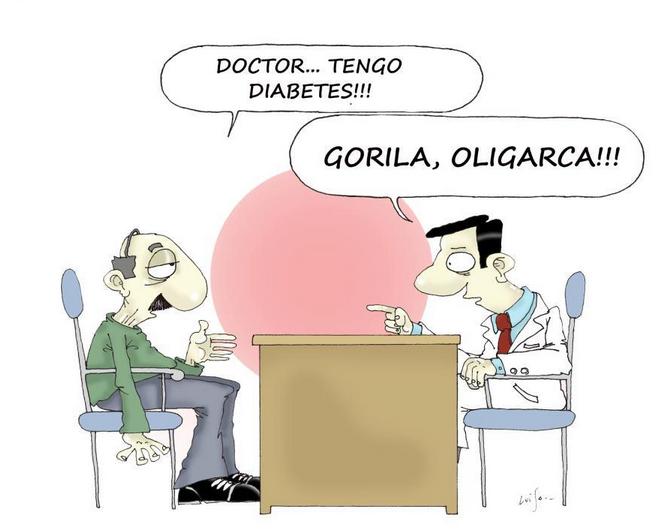 La diabetes y los imbéciles