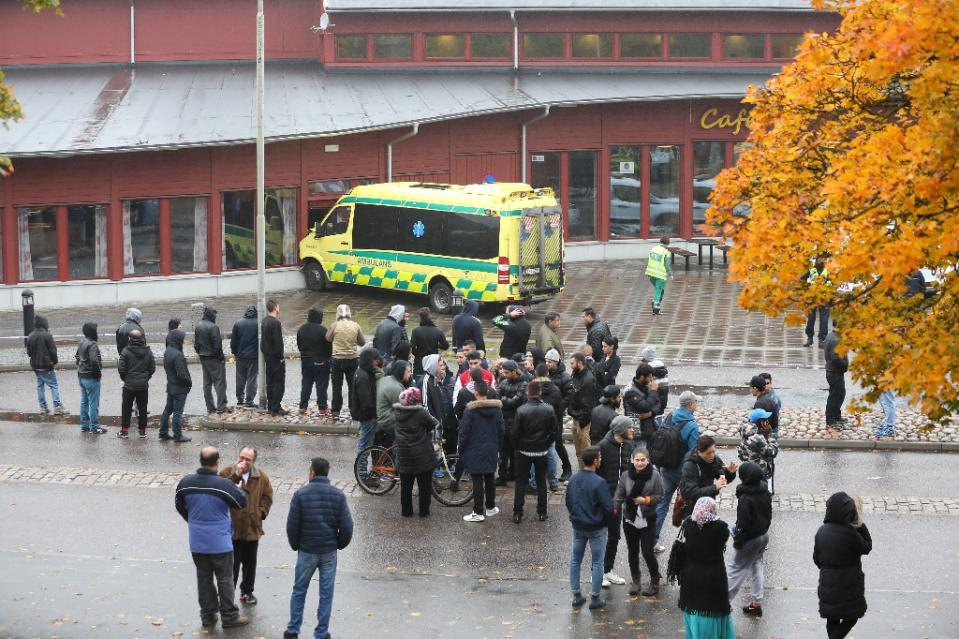 Sweden sword attack at school leaves two dead