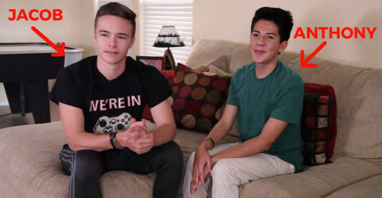 Jacob is straight. Anthony is gay. They just went to prom together. Here's how it went.