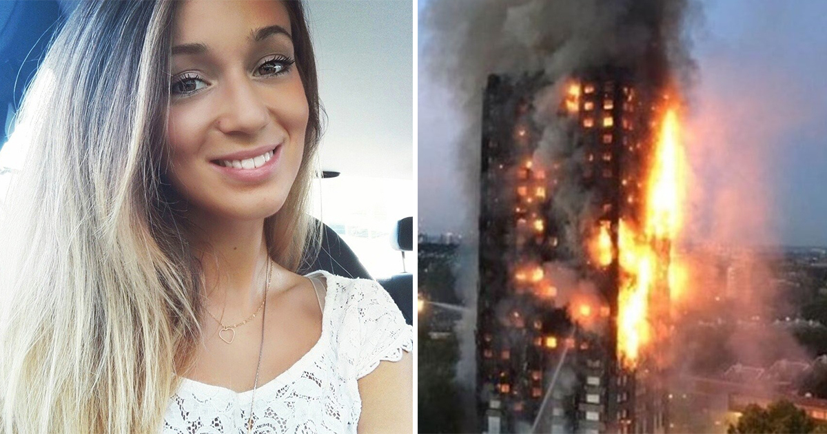 Mom received a call from the burning building in London, it was her daughter calling to say goodbye