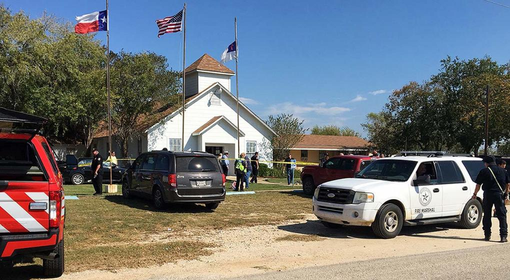 Air Force acknowledges that one of its papers may have prevented the Texas church massacre