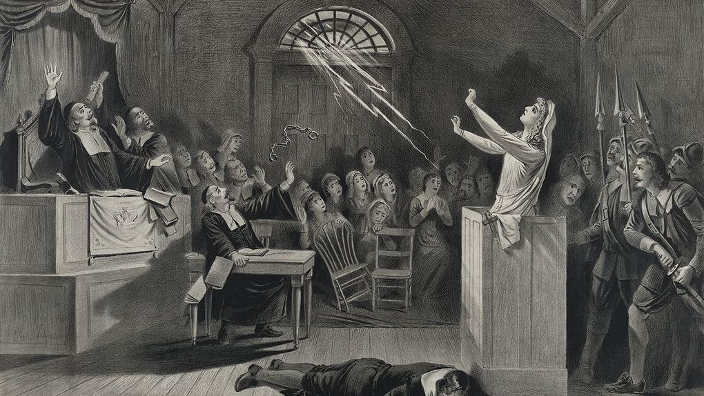 The worst witchcraft trial took place in Spain, not in Salem