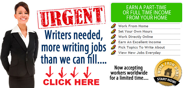 real online writing jobs Why would someone pay for real writing jobs when you can find the jobs for free on odesk or elance we reveal the scam and show you how you can become a writer.