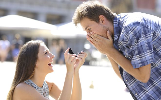Eight women who decided to propose