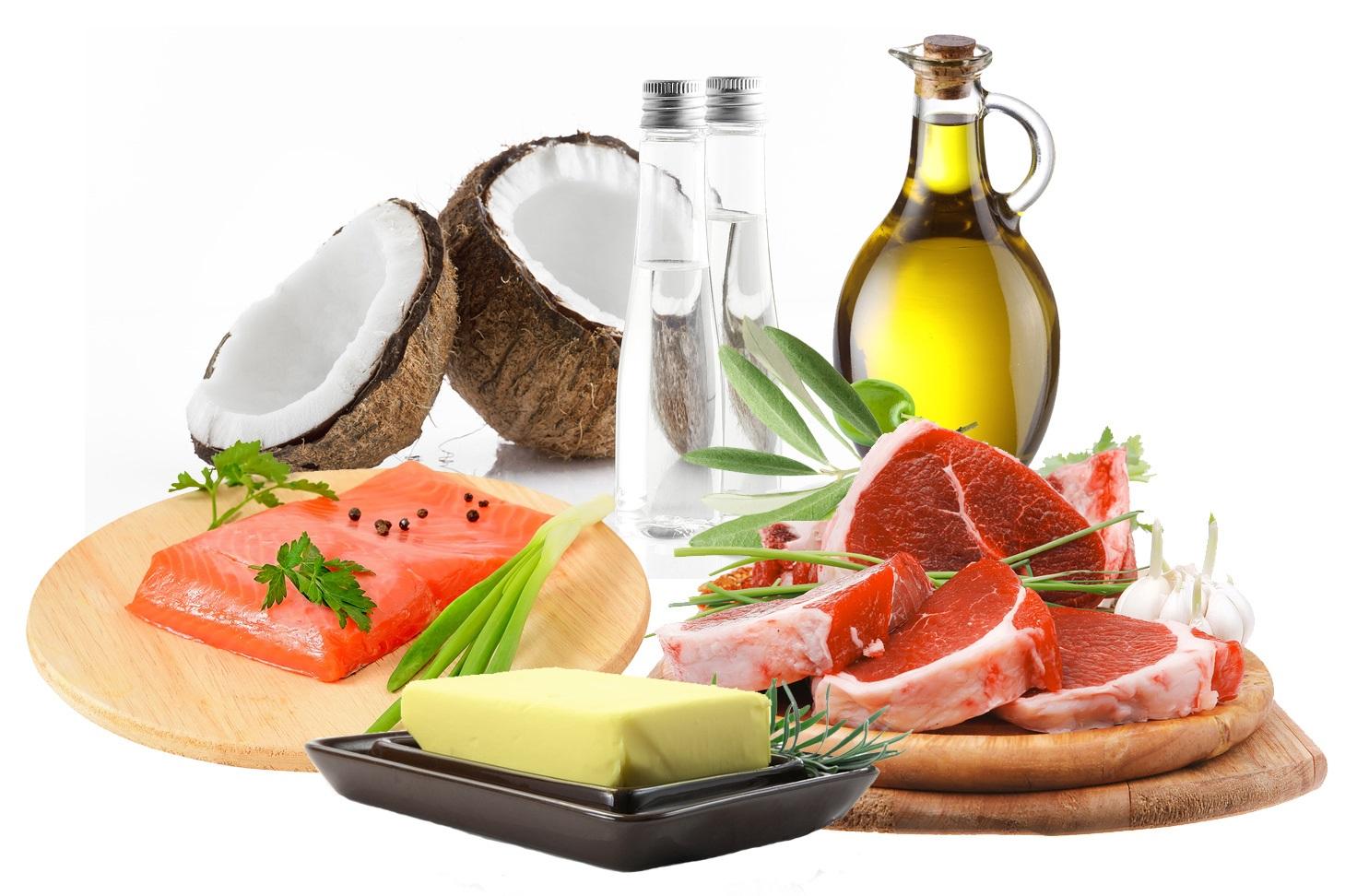 Que alimentos se comen en la dieta cetogenica