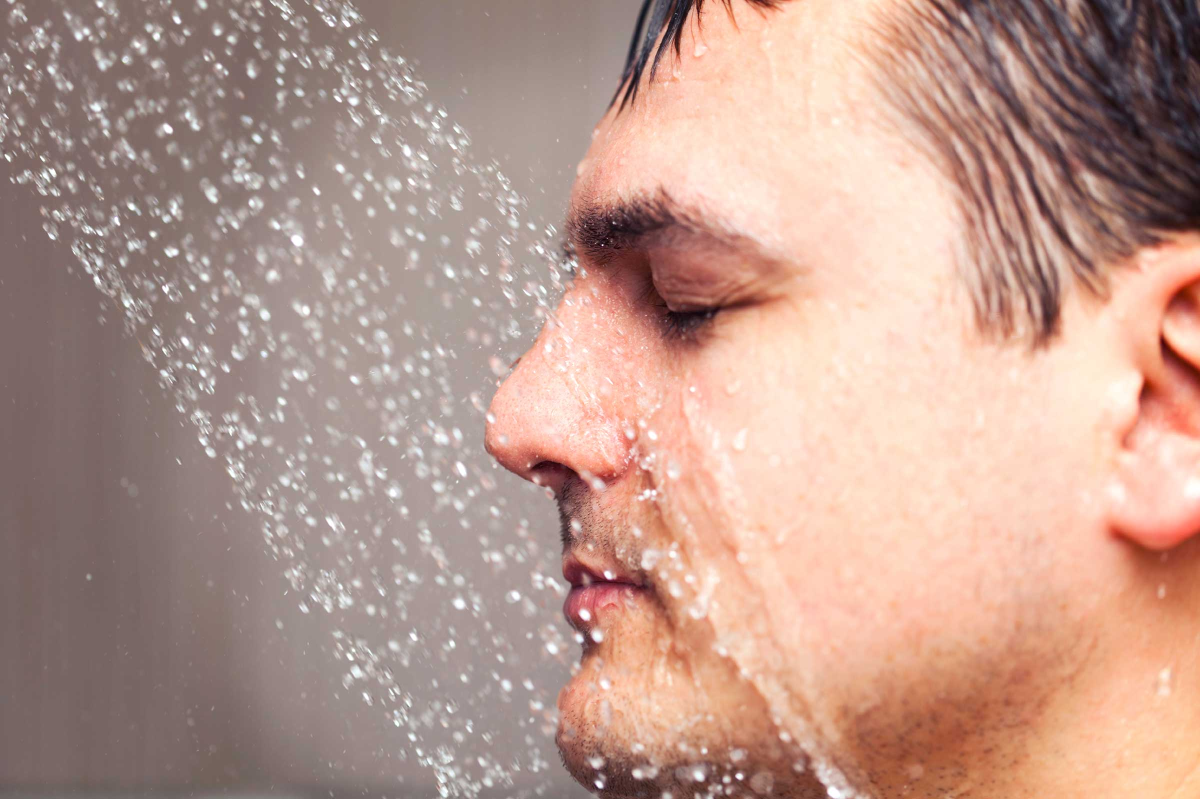 The first body part you wash in the shower can say a lot about your personality