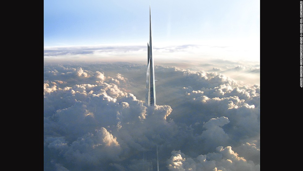 Saudi Arabia to build world's tallest tower, reaching 1 kilometer