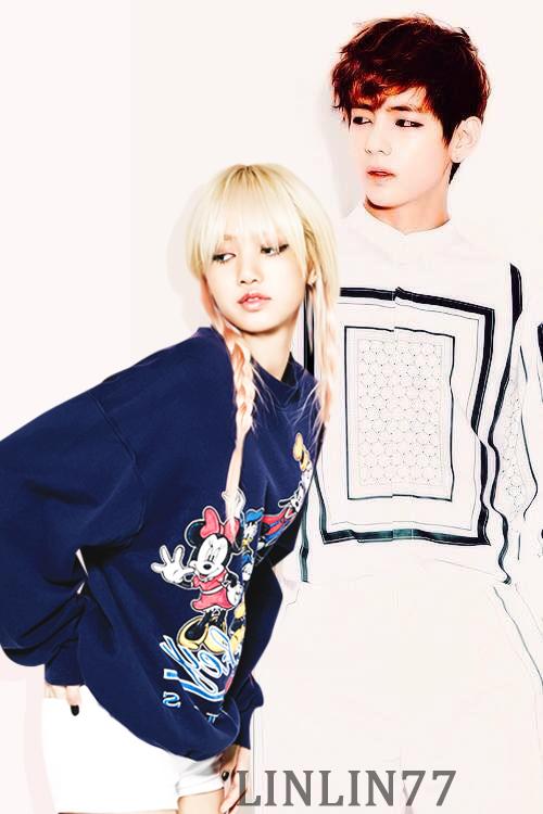 relación confirmada ???Taehyung (Bts) y lisa (Blackpink)