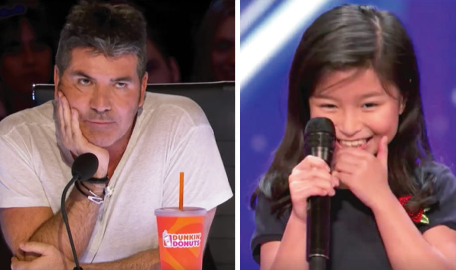 9-year-old girl leaves Simon Cowell out of breath singing a huge classic