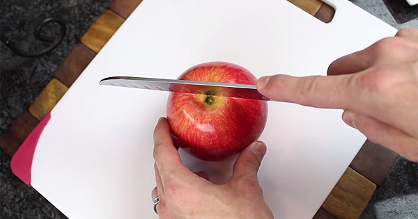 You've Been Cutting Apples Wrong Your Entire Life. Sorry, But It's True.
