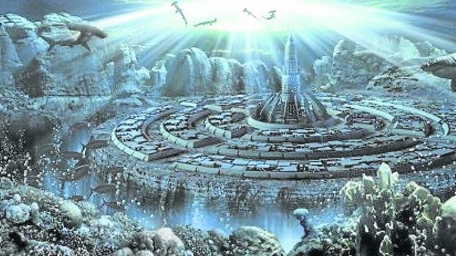 La relación de la Atlántida con la tierra hueca