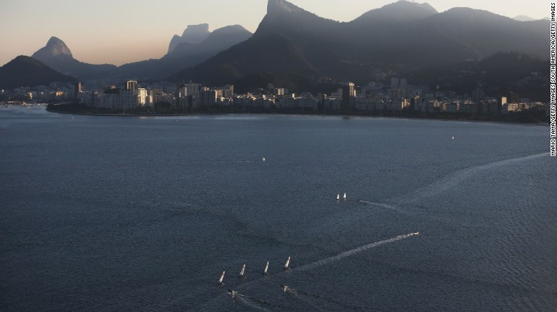 'Super bacteria' discovered in Rio's waters as Olympics near