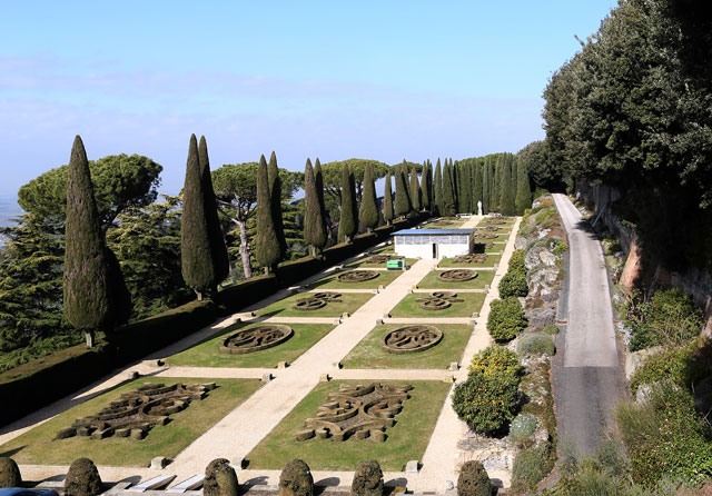 Gardens Of The Pontifical Villas