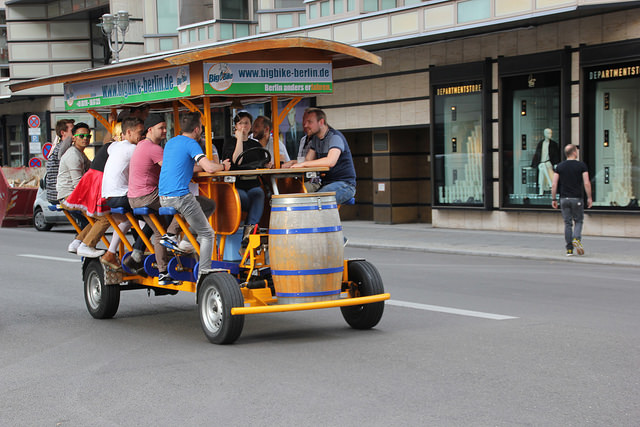 This Governor legalizes beer bikes