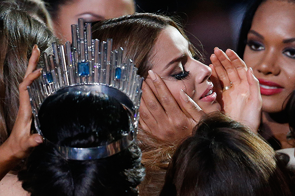 Miss Universe judge to Miss Colombia: You're not Miss Universe