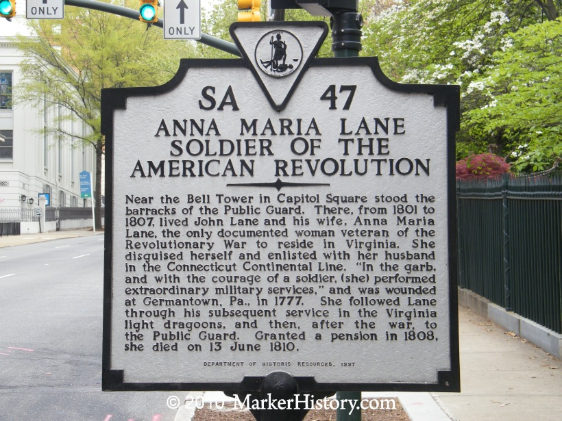 The story of the only known female soldier of the American Revolution