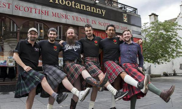 Scottish waiters stop wearing kilts due to constant groping by women