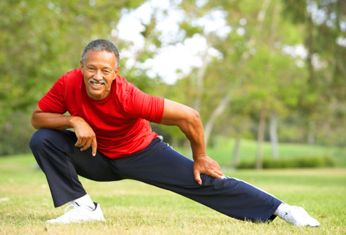 Moderate Exercise May Reduce Men's Heart Failure Risk