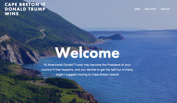This gorgeous Canadian island is offering refuge to Americans if Trump wins
