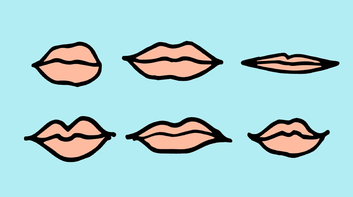 Researchers explain what the shape of your lips say about you