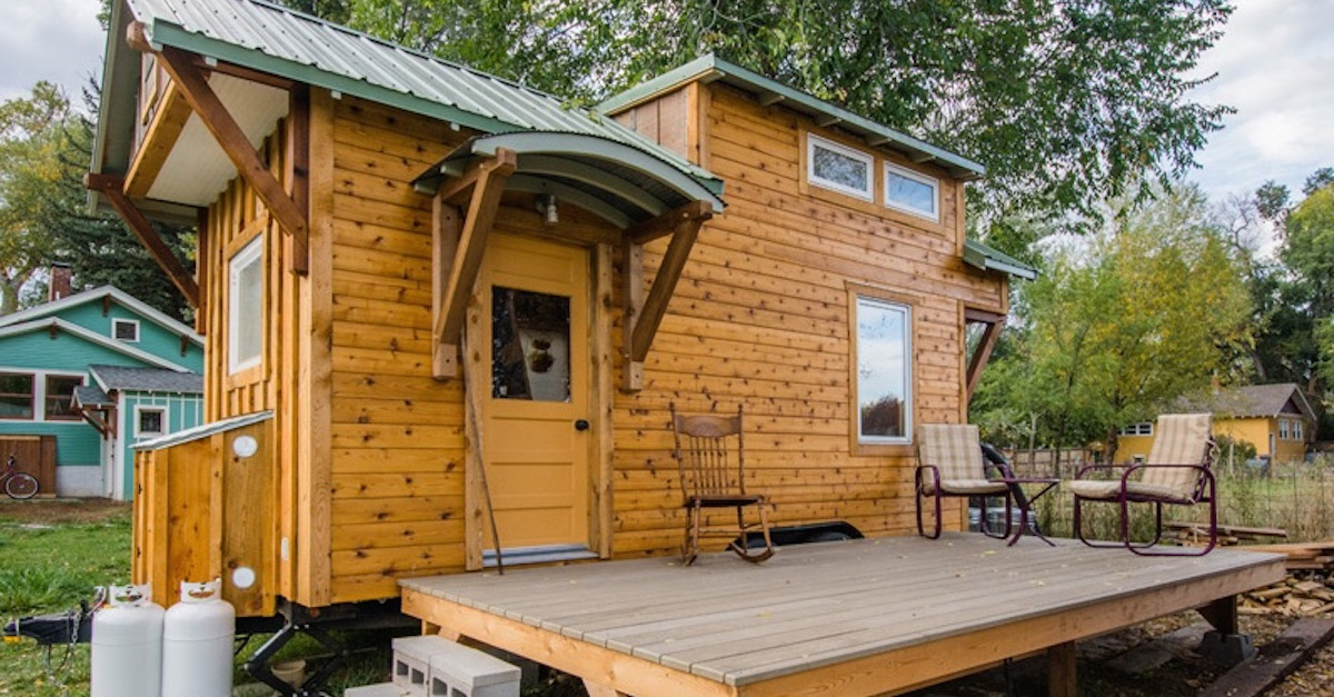 Couple Turns Teardrop Trailer Into Affordable Tiny Home
