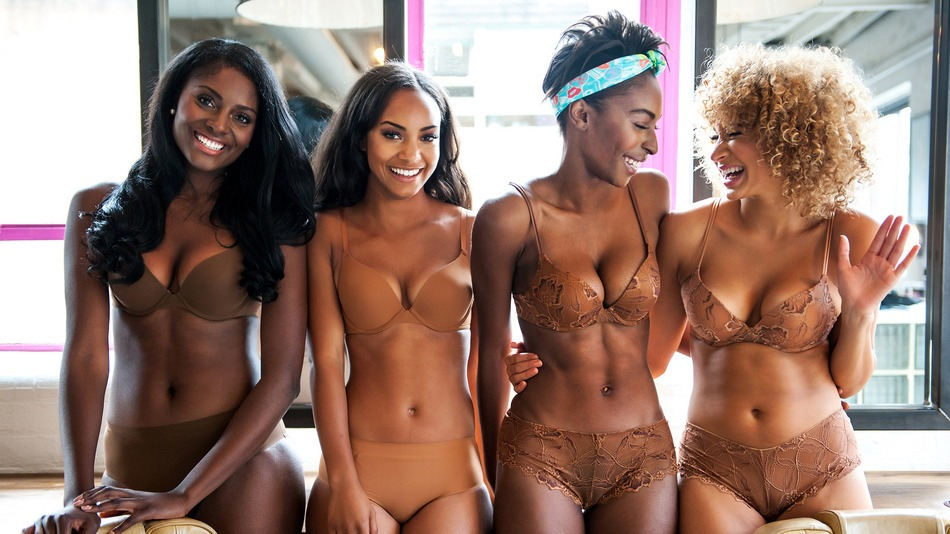 The new nude: A lingerie line for women of color