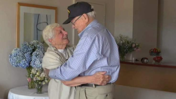Wartime Sweethearts Reunite After 72 Years